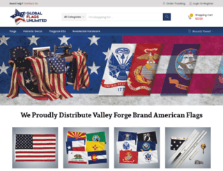 valley-forgeflag.com screenshot