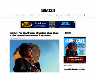 valleyadvocate.com screenshot