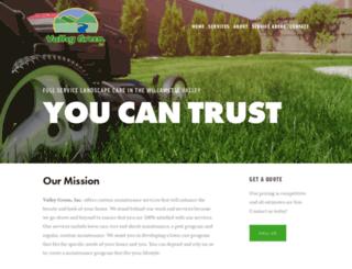 valleygreeninc.com screenshot