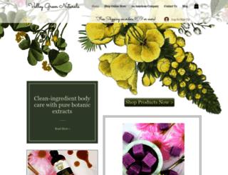 valleygreennaturals.com screenshot