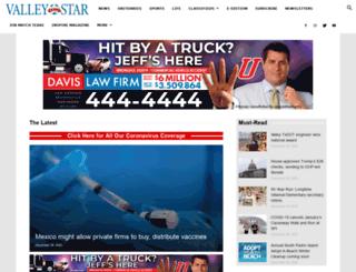 valleymorningstar.com screenshot
