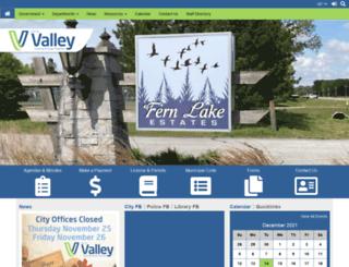 valleyne.org screenshot