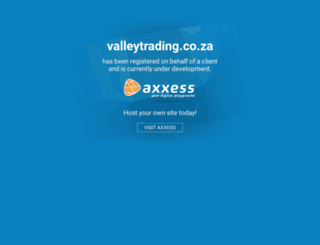 valleytrading.co.za screenshot