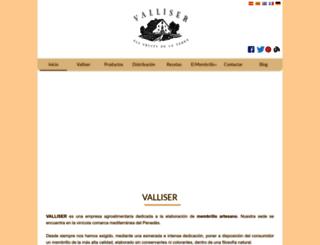 valliser.com screenshot