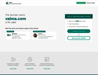 valma.com screenshot
