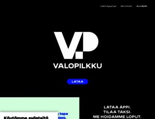 valopilkkutaksi.fi screenshot