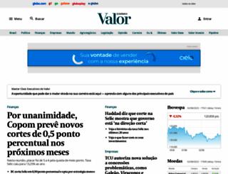 valoronline.com.br screenshot