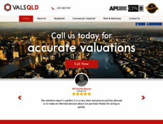 valsqld.com.au screenshot