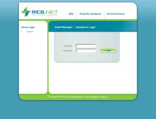 valuations.res.net screenshot