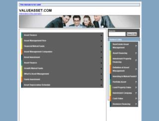 valueasset.com screenshot