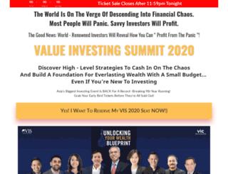 valueinvestingsummit.com screenshot