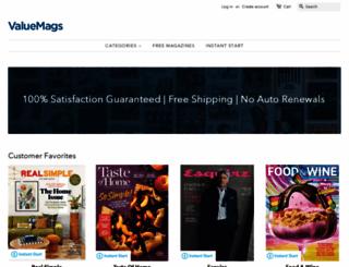 valuemags.com screenshot