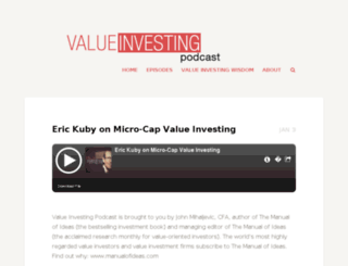 valuepodcast.com screenshot