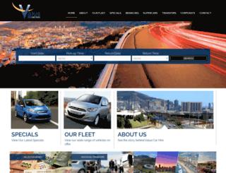 valuerentalcar.com screenshot