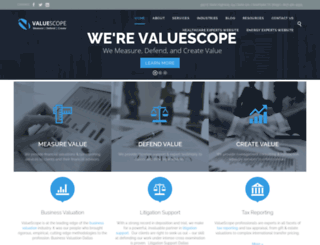 valuescopeinc.com screenshot