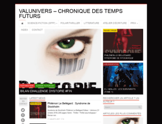 valunivers.fr screenshot