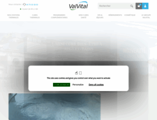 valvital.fr screenshot