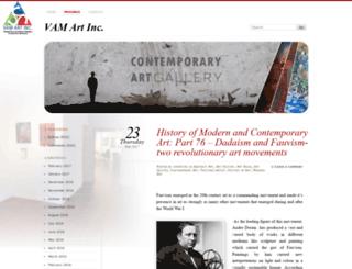 vamart.wordpress.com screenshot