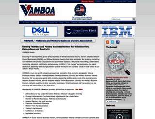 vamboa.org screenshot