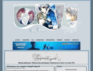 vampire-knight.positifforum.com screenshot