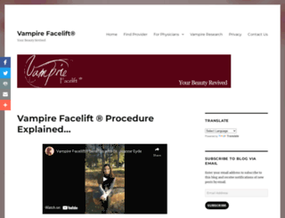 vampirefacelift.com screenshot