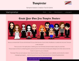 vampiretar.framiq.com screenshot