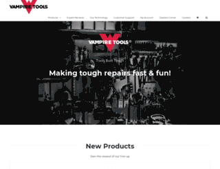 vampiretools.com screenshot