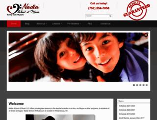 vamusiclessons.com screenshot