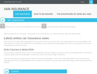 van-insurance-info.eu screenshot