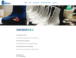 vanbeersbv.nl screenshot