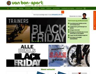vanbon-sport.nl screenshot
