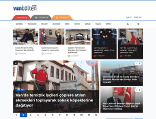 vanbulten.com screenshot