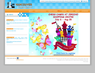 vanchess.ca screenshot