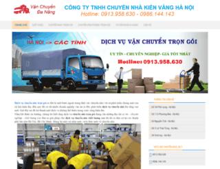 vanchuyendanang.com screenshot