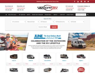 vancityrv.com screenshot
