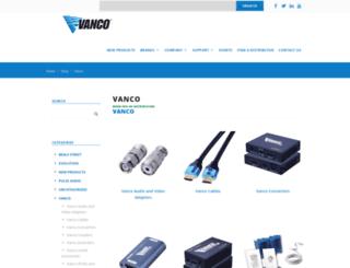 vanco-online.com screenshot