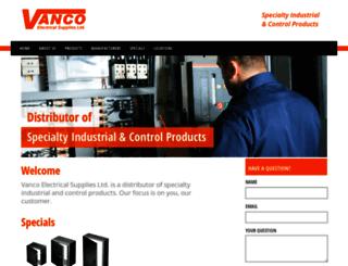 vanco.ca screenshot