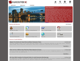 vancouver-bc.info screenshot