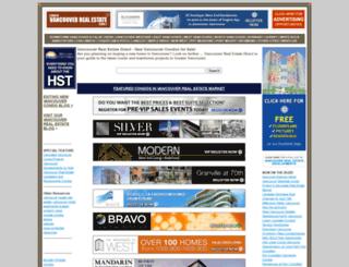 vancouver-real-estate-direct.com screenshot