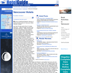 vancouver.hotelguide.net screenshot