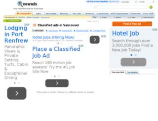 vancouver.newads.com screenshot