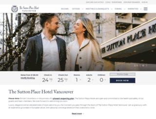 vancouver.suttonplace.com screenshot