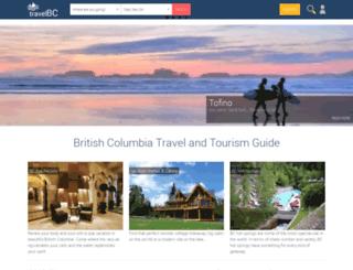 vancouver.travel.bc.ca screenshot