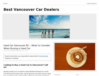 vancouvercardealers.net screenshot