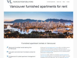 vancouverforliving.com screenshot