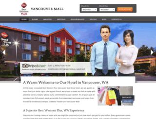 vancouvermallhotel.com screenshot