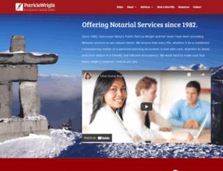 vancouvernotary.com screenshot