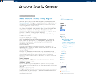 vancouversecuritycompany.blogspot.com screenshot