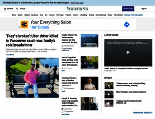 vancouversun.com screenshot