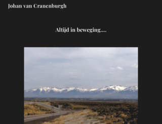vancranenburgh.nl screenshot